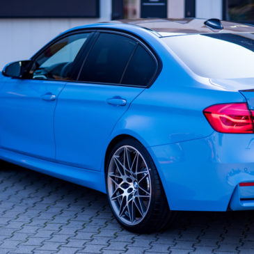 BMW M3, CarSPA, detailing, powłoki ochronne, powłoki ceramiczne, hydrofobizacja szyb, powłoki ochronne, carwash, korekta lakieru, zabezpieczenie samochodu, stylizacja foliami,
