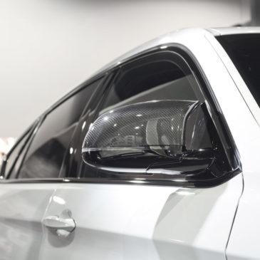 BMW X6 M, CarSPA, detailing, powłoki ochronne, powłoki ceramiczne, hydrofobizacja szyb, powłoki ochronne, carwash, korekta lakieru, zabezpieczenie samochodu, stylizacja foliami,